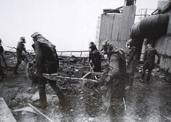 Pompieri Cernobil