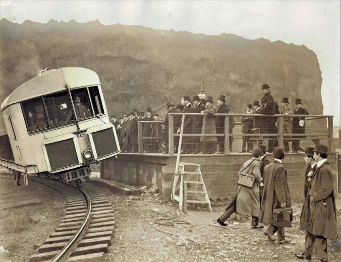 Trenul giroscopic