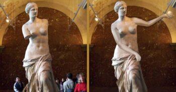 Venus din Milo, statuia fără brațe care îi nedumerește pe specialiști