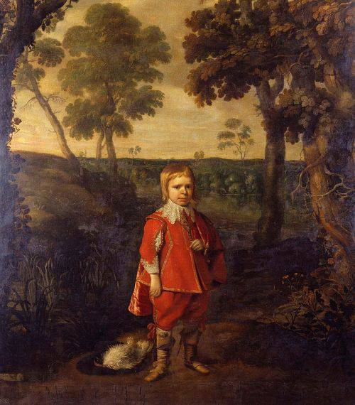 Jeffrey Hudson in padure