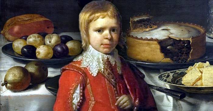 Lord Minimus, piticul care a ieșit dintr-o plăcintă la un banchet regal featured_compressed