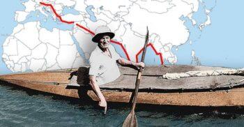 Oskar Speck, omul care a ajuns cu caiacul din Germania în Australia, vâslind 50.000 de kilometri