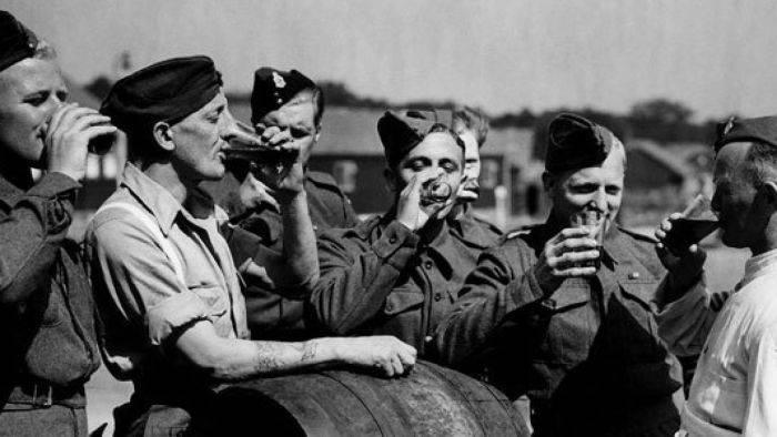 Soldati band bere