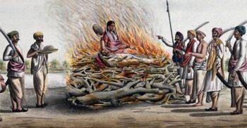 De ce femeile hinduse își dădeau foc când rămâneau văduve? Sati, un ritual întunecat