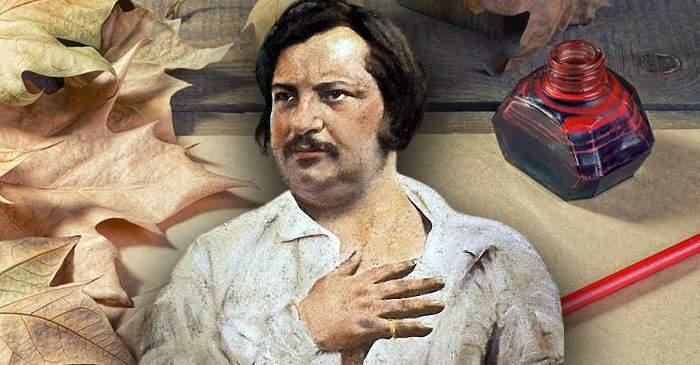 Honoré de Balzac, autorul care scria 16 ore pe zi
