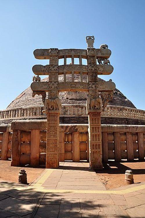 Marea Stupa din Sanchi