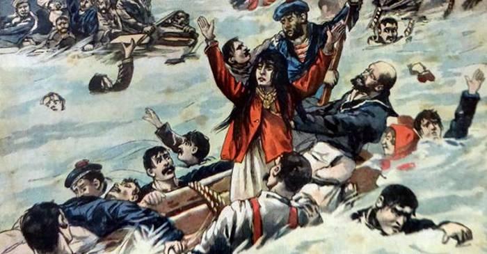 Naufragiul în care marinarii au bătut cu vâslele femeile și copiii și i-au lăsat să moara