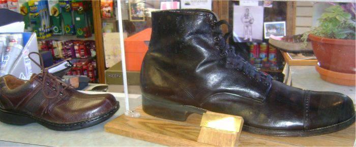 Pantofii lui Robert Wadlow