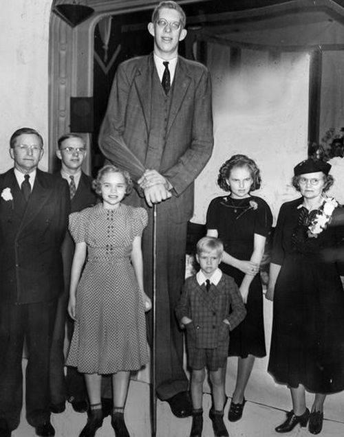 Robert Wadlow, cel mai înalt om