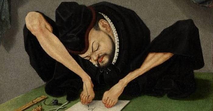 Thomas Schweicker bărbatul fără mâini care a devenit maestru caligraf