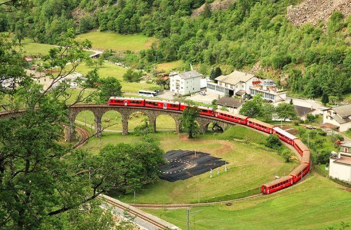Viaductul din Brusio 02