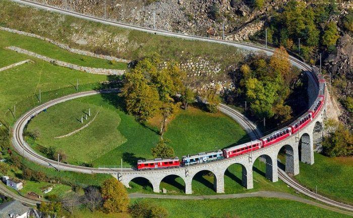 Viaductul din Brusio