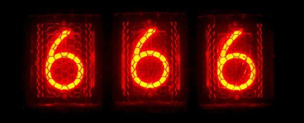 Superstitii - numarul 666