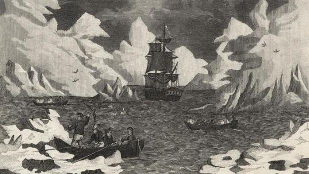 Antarctica - descoperire