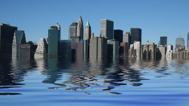 Antarctica - inundatii