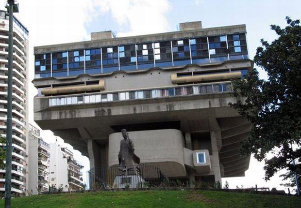 cele mai urâte clădiri din lume - Biblioteca Nationala