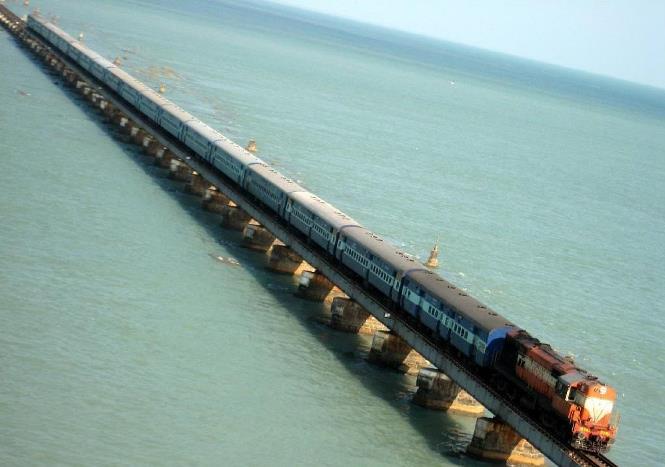 cele mai periculoase căi ferate din lume - Calea Ferata Chennai-Rameswaram