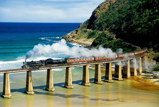 cele mai periculoase căi ferate din lume - Calea Ferata Outeniqua Choo-Tjoe