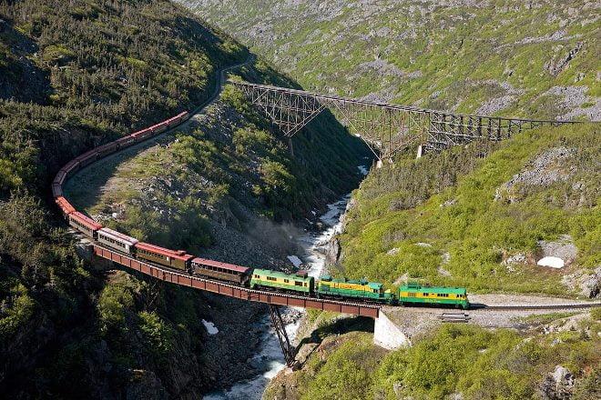 cele mai periculoase căi ferate din lume - Calea Ferata Yukon