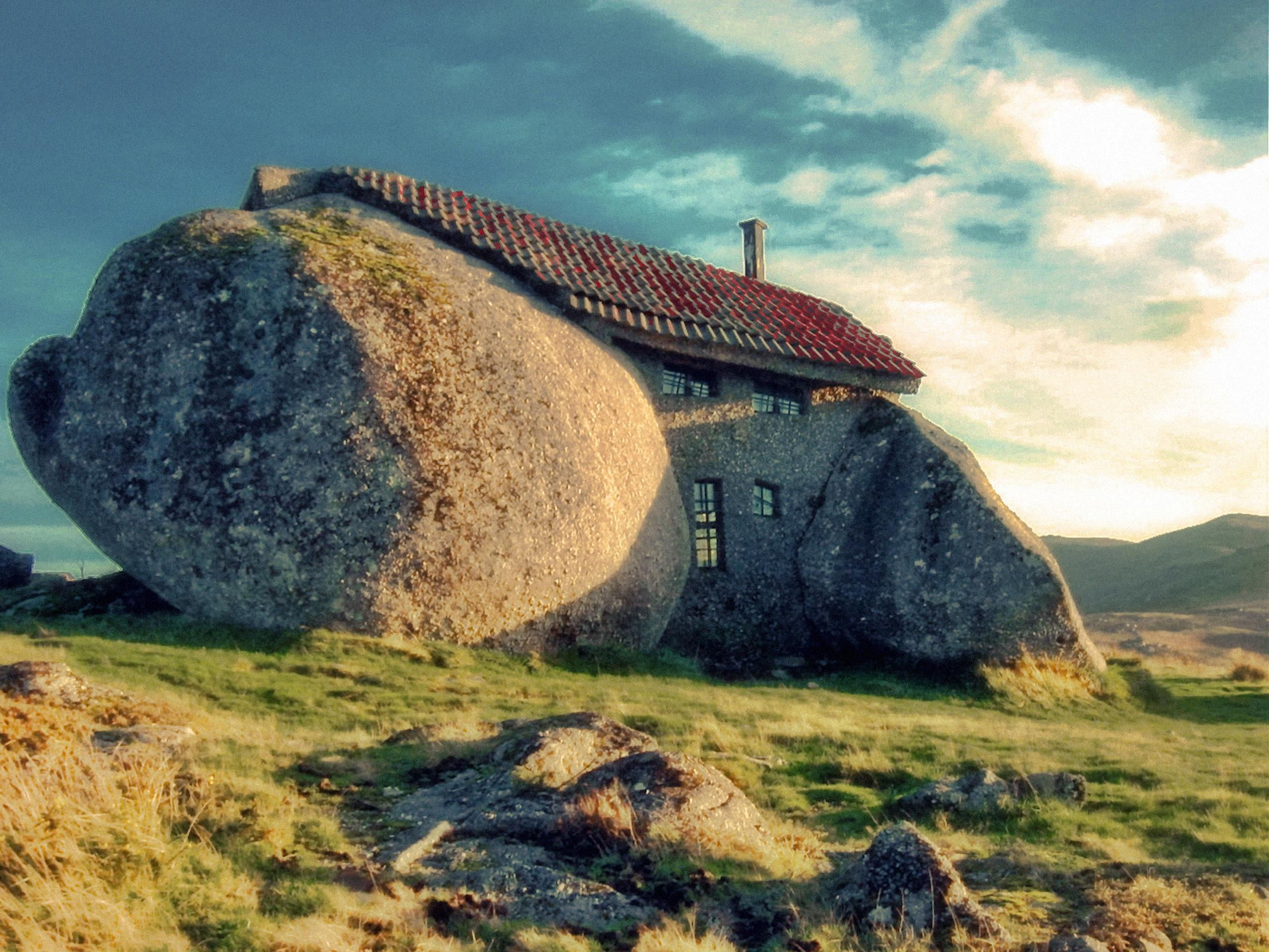 Cele mai ciudate clădiri din lume - Casa do Penedo