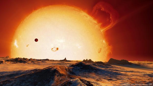Catastrofe cosmice - Disparitia Soarelui