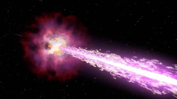 Catastrofe cosmice - Raze Gamma