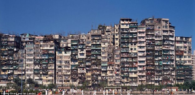 Cel mai aglomerat oras din lume - alte blocuri