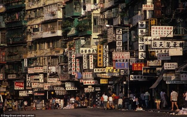 Cel mai aglomerat oras din lume - strada