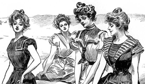 Cele mai frumoase femei - Gibson Woman