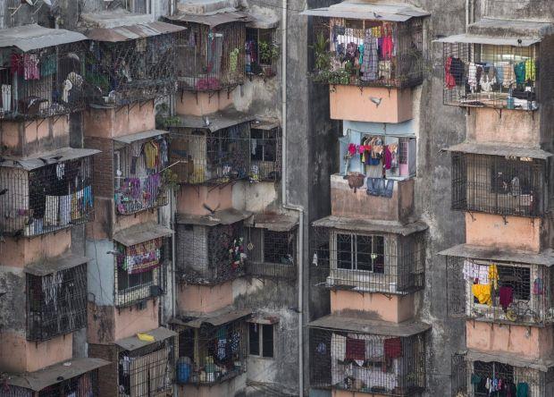 Cele mai mici apartamente din lume - Dharavi bloc