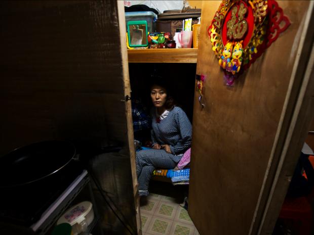 Cele mai mici apartamente din lume - Hong Kong apartament mic
