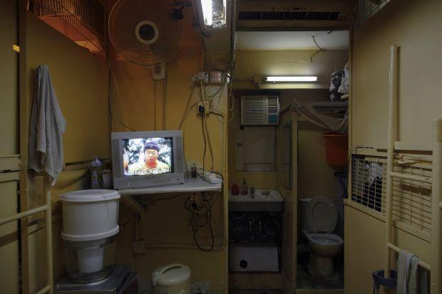 Cele mai mici apartamente din lume - Hong Kong module interior