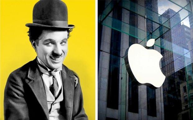 Chaplin-Apple