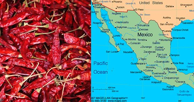 Chili din Mexic