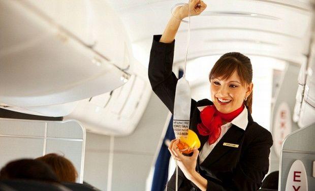 Companii aeriene - Masti oxigen
