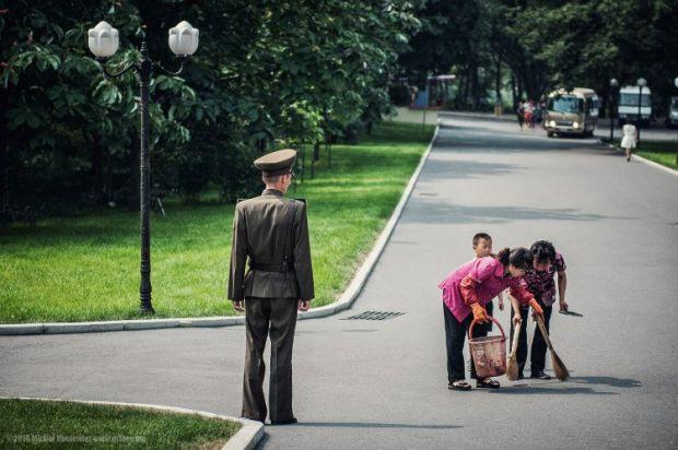 Coreea de Nord - Politist