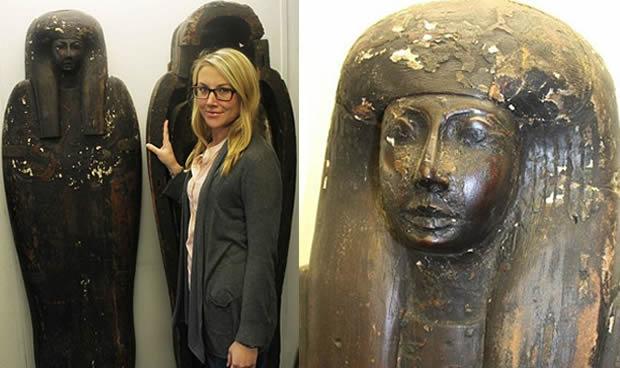 Descoperiri - sarcofag egiptean