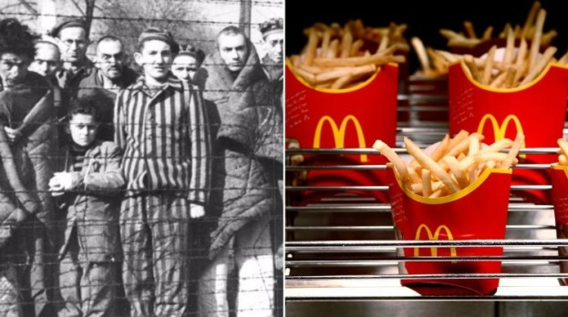 Evenimente istorice - Auschwitz McDonalds