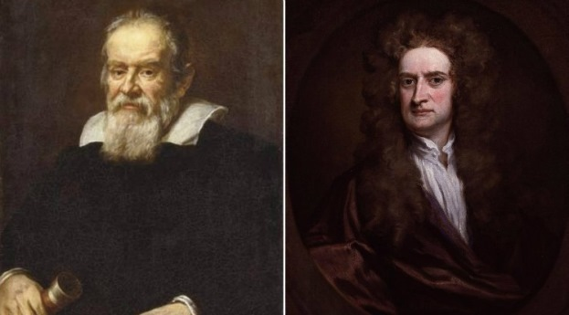 Evenimente istorice - Galilei Newton