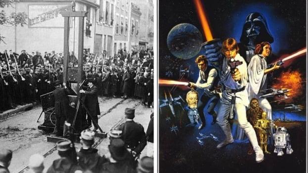 Evenimente istorice - Star Wars ghilotina