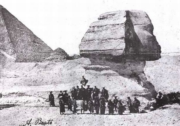 Fotografii vechi - Sfinx