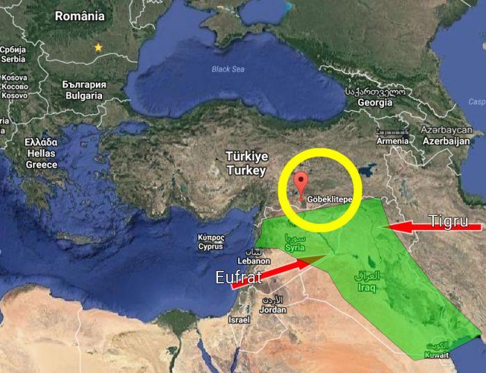 Gobekli Tepe Turcia și Mesopotamia