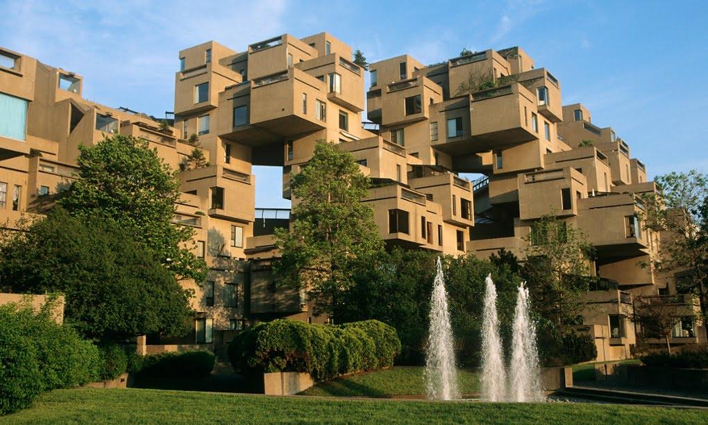 Cele mai ciudate clădiri din lume - Habitat 67