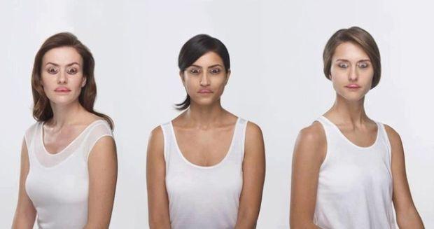 Iluzii optice - femei urate