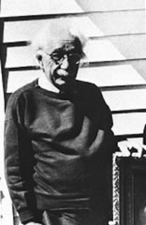 Imagini rare - Albert Einstein