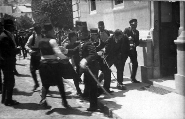 Imagini rare - Gavrilo Princip