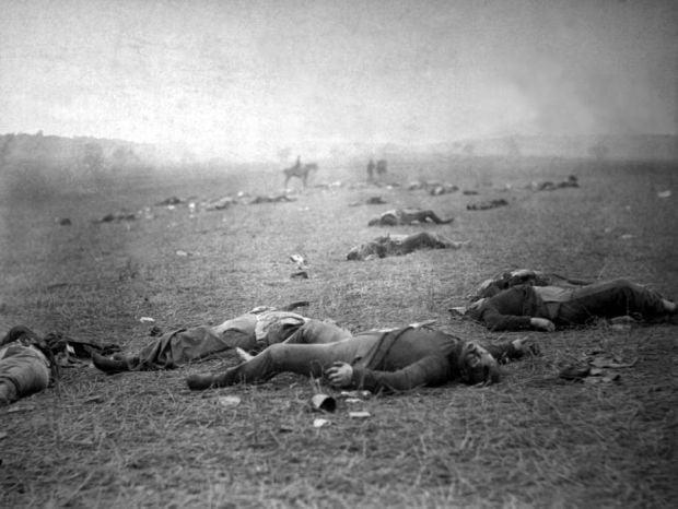 Imagini rare - Gettysburg