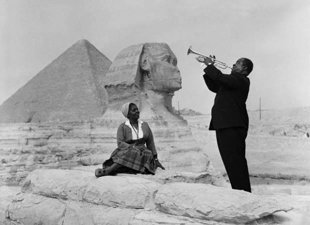 Imagini rare - Louis Armstrong