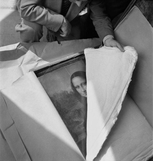 Imagini rare - Mona Lisa