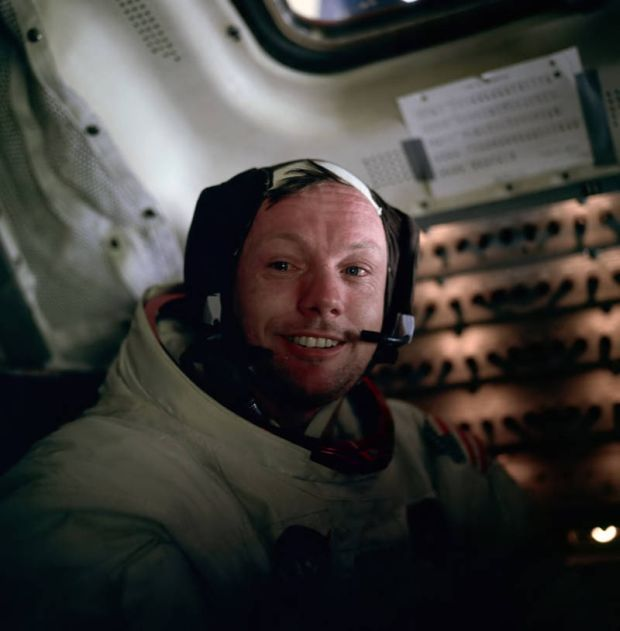 Imagini rare - Neil Armstrong